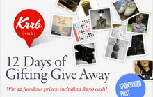 Sponsored Post: 12 Days of Gifting with Krrb