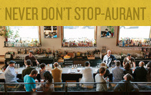 Never Don't Stop-aurant