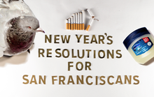 New Year's Resolutions for San Franciscans