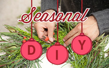 How to Make a Holiday Wreath Using Plants from Your Yard