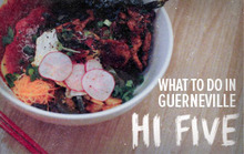 What To Do In Guerneville: Hi Five