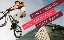 Tony Campos' Epic Backyard Skate Ramp