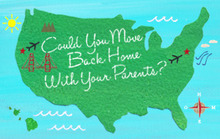 Could You Move Back Home with Your Parents?