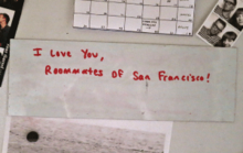I Love You, Roommates of San Francisco!
