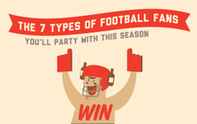 The 7 Types of Football Fans You'll Party With This Season