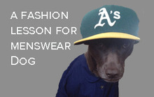 A Fashion Lesson for Menswear Dog with Special Guest Benny Tinderholt