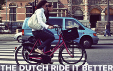 You're Doing It Wrong, Dutch Cyclist Tells Americans