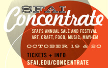 Commercial Break: Art, Music, Food, & Mayhem Converge at SFAI CONCENTRATE