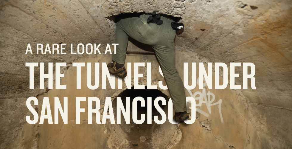 A Rare Look at the Tunnels Under San Francisco The Bold Italic San Francisco