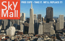 Skymall Products for San Francisco