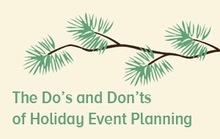 7 Holiday Event Planning Tips