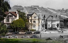 1906 Earthquake Photos Merged with Modern San Francisco