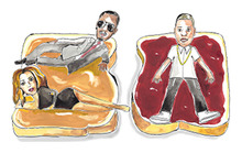 Celebrity Sandwiches