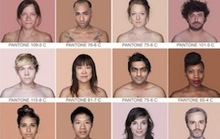 Humans as Pantone Colors Are Beautiful